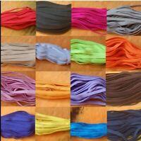 2-10 Meter Gummiband 6mm viele Farben Gummilitze Gummi Wäschegummi elastisch