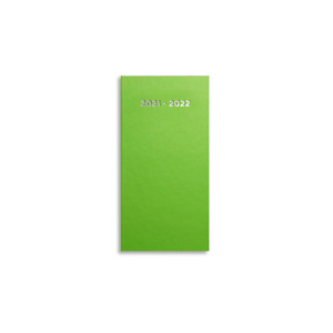 Pirongs Pocket 2021-2022 Academic Diary - Choice of 10 Colours - Size:166 x 82mm