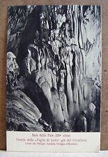 Grotta figlia di Jorio - Lama dei Peligni, Abruzzo [piccola, b/n, non viaggiata]