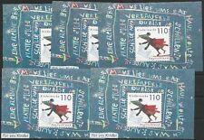 Bund aus 1999 ** postfrisch 5x Block 51 MiNr. 2072 - Für uns Kinder!