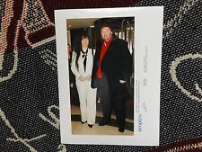 "8"" x 6"" DARTS PRESS AGENCY PHOTO - ANDY FORDHAM & WIFE JENNY 2005"