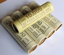 Italia Repubblica un rotolino da 50 monete 200 lire no argento