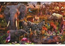 RAVENSBURGER African Animal World 3000 Piece Puzzle NEW jigsaw