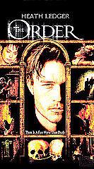 The Order (VHS, 2004) New Sealed starring Heath Ledger