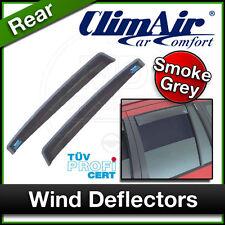 CLIMAIR Car Wind Deflectors VOLKSWAGEN VW POLO 4 Door 2003 to 2009 REAR
