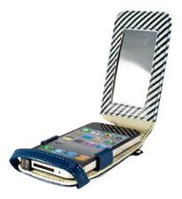 Proporta Azul Brillo Moda Abatible Estuche Cubierta Protector para Apple iPhone 4 4G 4S