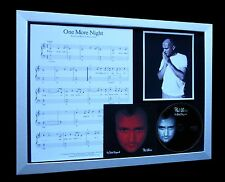 PHIL COLLINS One More Night TOP QUALITY CD FRAMED DISPLAY-EXPRESS GLOBAL SHIP!!