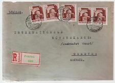 1943 Feldebro Hungary Censored cover to Switzerland International Red Cross