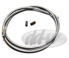 Schaltzughülle Bowdenzughülle Schaltung Bowdenzug 5mm Außendurchmesser Grau