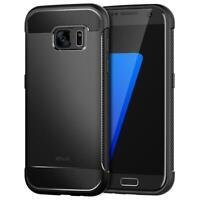 JETech Coque pour Samsung Galaxy S7, Shock-Absorption et Anti-Rayures, Noir
