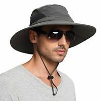 EINSKEY Wide Brim Sun Hat Summer UV Protection Beach Hat Showerproof Safari