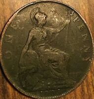 1903 UK GB GREAT BRITAIN ONE PENNY