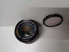 Minolta MC Rokkor-X 50mm f/1.4 PG Lens (Great)