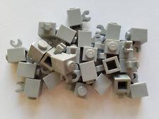 Lego Medium Stone Grey Brick Mod 1x1, Part 60476, Element 4535764, Qty:25 - New