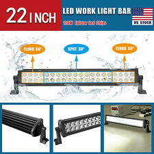 "US Super Bright 120W 22"" Led Work light Bar Combo Offroad ATV SUV 4WD Boat Jeep"