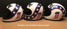 "EVEL KNIEVEL""Make your own helmet""  DECAL set!  #1 DAREDEVIL!"