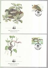Jamaika 1984 FDC MiNr. 591I-594I Jamaika-Boai  WWF