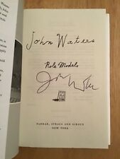 SIGNED by John Waters - Role Models  HC 1st/1st + Pic Director Hairspray Crybaby