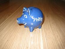 """Sparschwein mit Namen """"Phillip"""""""