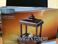 Homedics EnviraScape Relaxation Fountain Candlelit With Aroma