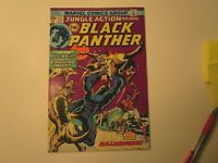 1974 JUNGLE ACTION BLACK PANTHER  # 12 IN  VERY FINE  CONDITION, WITH KILLMONGER