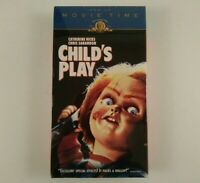 Child's Play VHS 1997 MGM Movie Time Version SEALED