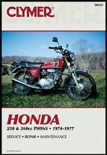 CLYMER SERVICE MANUAL HONDA CB250GS & CJ250T ALL YEARS, CB360 1975-1976 75 76