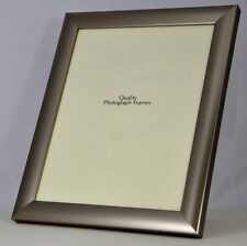 Quality Brushed Silver/Pewter Photo/Picture Frame - Various Sizes available