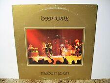 DEEP PURPLE, MADE IN JAPAN, 1972 NEAR MINT STEREO LP