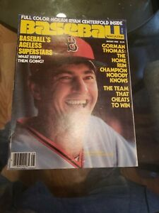 1980 (Aug) Baseball Magazine Carl Yastrzemski Yaz Boston Red Sox, NO Label, EX