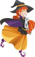 30 Custom Happy Halloween Witch Personalized Address Labels