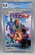 Children of the Atom #1 CGC 9.8 Silva Variant 1st Appearances X-MEN