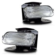 For Ford F150 Expedition Clear Lens Chrome Housing Replacement Fog Lights Lamps