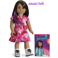 American Girl Luciana Vega Doll & Book 2018 GOTY Girl of the Year GET FOR XMAS