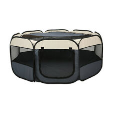 Foldable Pet Play Pen - Extra Large Dog Puppy Cat Cage Play Tent Portable Fence
