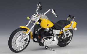 Brand new Maisto 1:18 Harley-Davidson 2001 FXDWG Dyna Wide Glide motorcycle mode