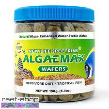 New Life Spectrum ALGAEMAX Wafers 150g Fish Food Fast Free USA Shipping