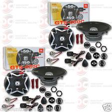 "4 x JBL GT5-650C 6.5"" CAR AUDIO 2-WAY COMPONENT SPEAKER SYSTEM GT5 650C"