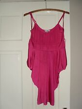 New Look - Bright Pink Pointed Edge Strappy Party, Club Vest Top