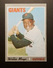1970 Topps #600 Willie Mays (Semi-High #)