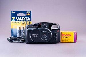 Olympus SuperZoom 700XB 35mm Point & Shoot Film Camera BOX