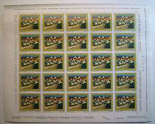 1976  ITALIA  150 lire  Turismo  Valle D'Itria   foglio intero MNH**