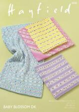 Hayfield Baby Blossom Double Knitting Pattern 4840 Blankets