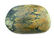 140.60 Carat Green Brown Spiderweb Turquoise Cab Cabochon Gem Stone Gemstone
