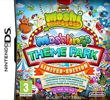 Moshi Monsters Moshlings Theme Park Limited Edition for DS Lite DSi XL Brand New