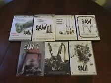 SAW - Lot de 7 DVD