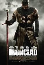 IRONCLAD Movie POSTER 27x40 Kate Mara Paul Giamatti Brian Cox Derek Jacobi James