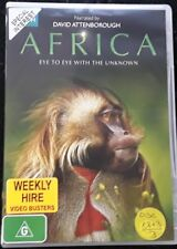 David Attenborough - Africa Eye to Eye with the Unknown (DVD - 3discs ,1996) R4