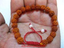 100% original 20 Rudraksh rudraksha bracelet braslet rosary beads mala india-M1