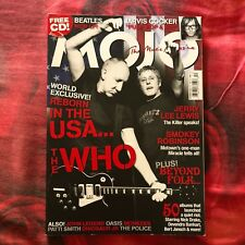 MOJO Magazine UK # 157 THE WHO Jerry Lee Lewis Oasis The Police Patty Smith